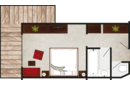 junior suite zirbe layout