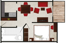 room enzian layout
