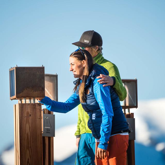 hiking holiday couple tyrol | © TVB Stubai Tirol / Andre Schönherr