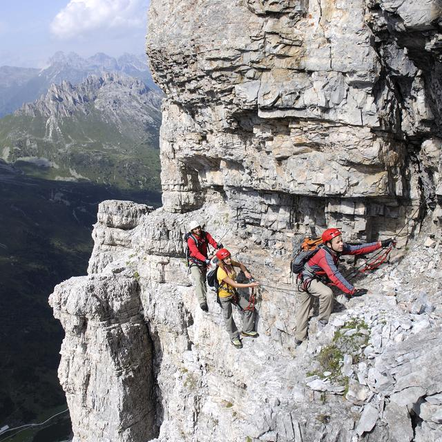 family activity climbing | © TVB Stubai Tirol