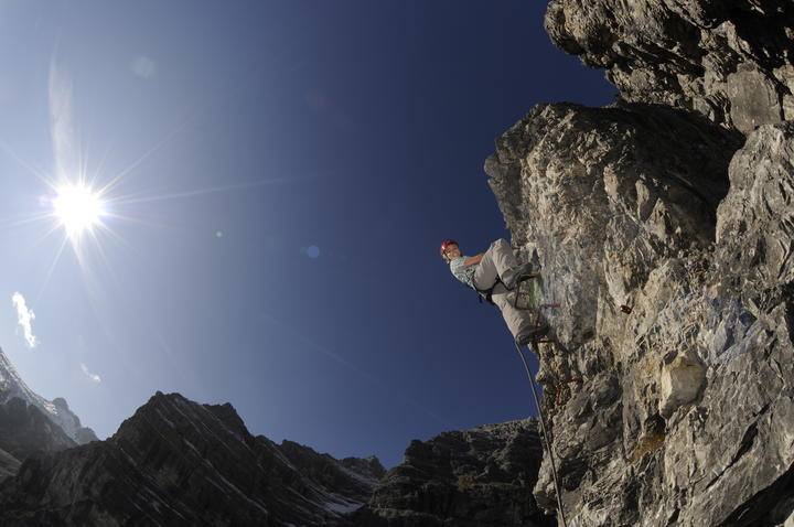 climbing in the stubaital valley | © TVB Stubai Tirol