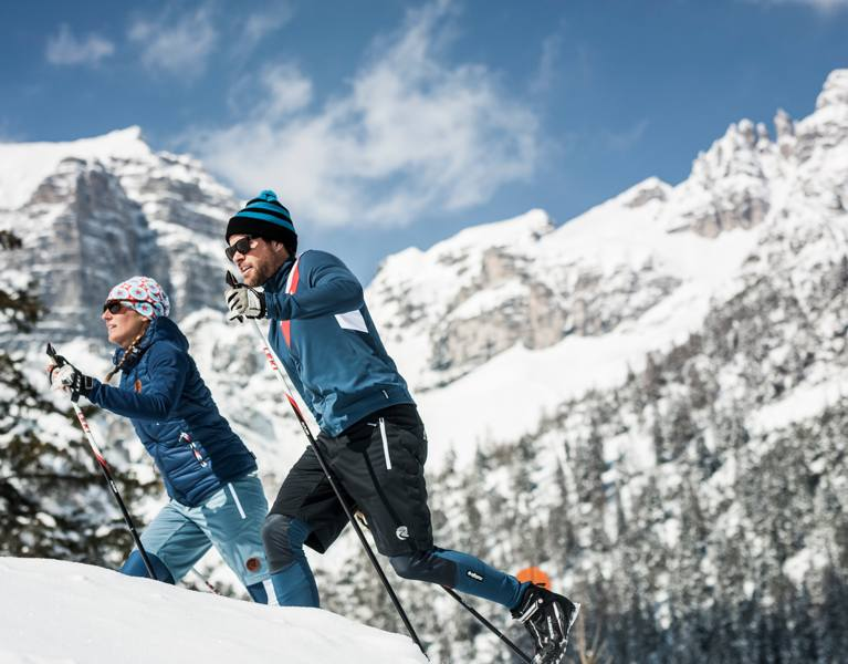 cross country skiing winter holidays tyrol