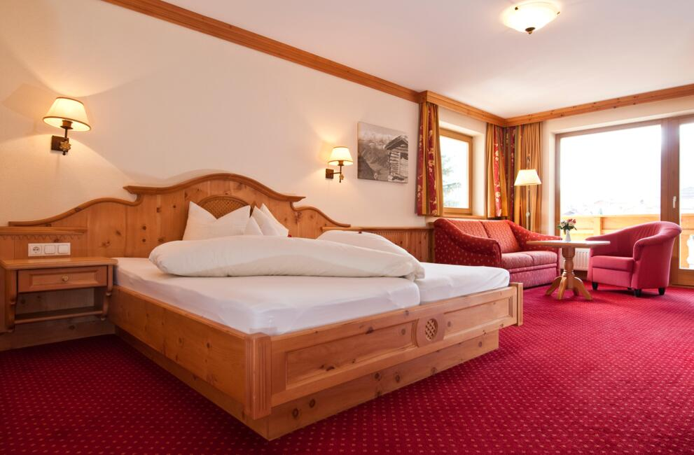 Hotel in den Bergen: Juniorsuite