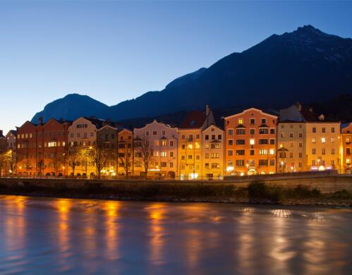 innsbruck at night | © Innsbruck Tourismus/Christof Lackner