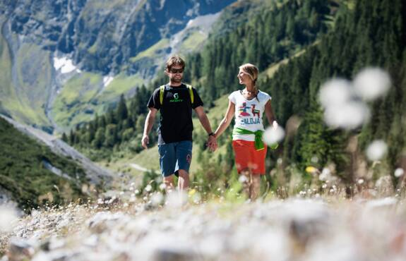 summer holidays in the mountains | © TVB Stubai Tirol / Andre Schönherr