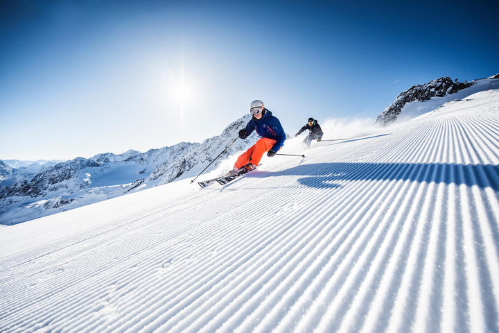 ski holiday in the alps