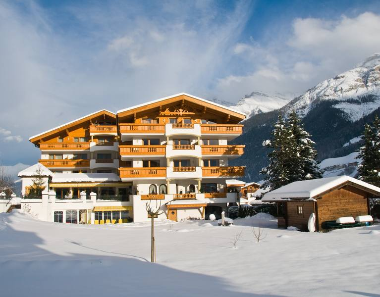 stubaierhof neustift winter exterior view
